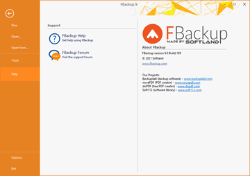 About FBackup